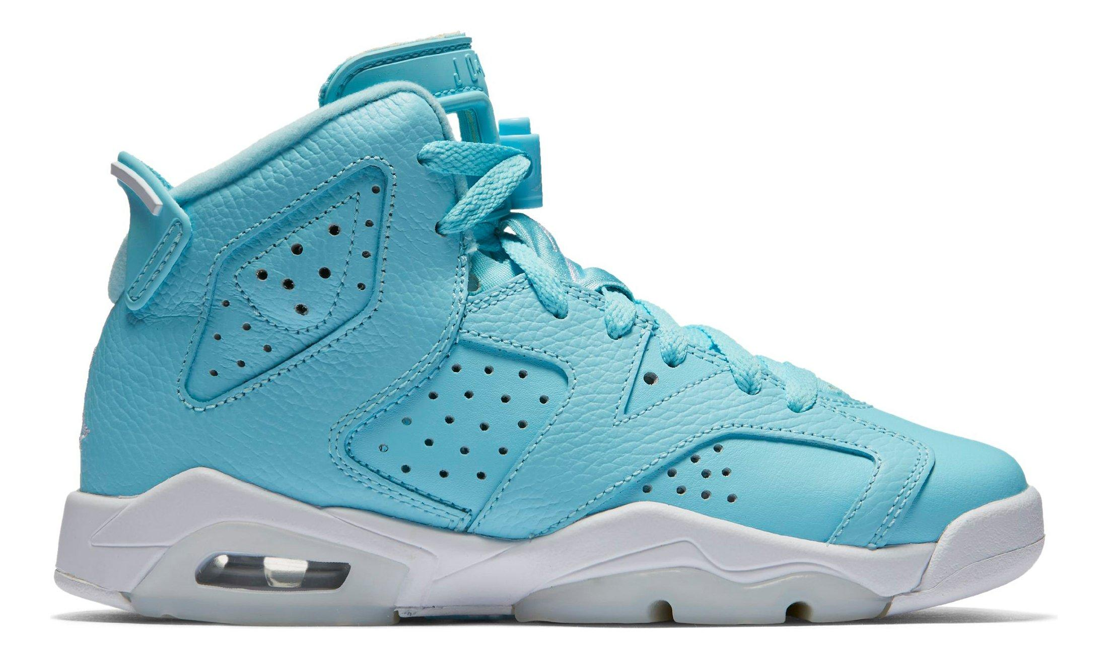 new product 72867 b76a1 50% off nike air jordans in white or blue for jr girls ef5f8 a3738