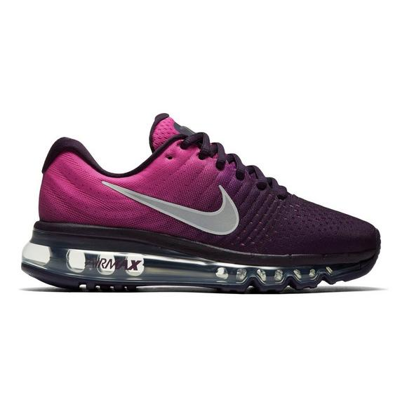 best service 8ce61 cc896 Nike Air Max 2017 Grade School Girl's Running Shoes - Hibbett US