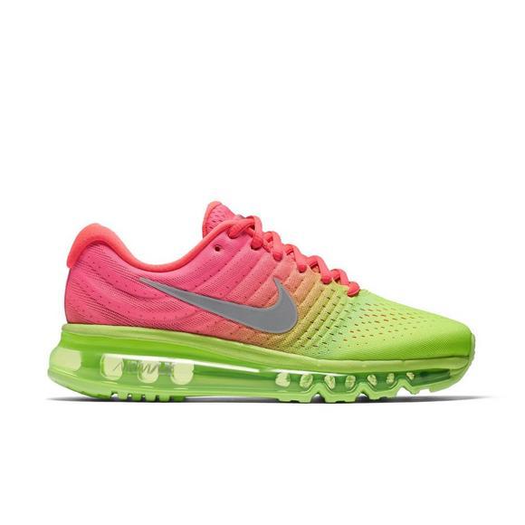 Nike Air Max 2017 Grade School Girls' Running Shoe Hibbett
