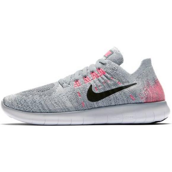 sports shoes a4ead 61035 Nike Free RN Flyknit 2017 Grade School Girls' Running Shoe ...