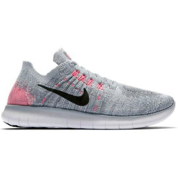 be785976957c4 Nike Free RN Flyknit 2017 Grade School Girls  Running Shoe - Main Container  Image 1
