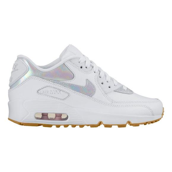 hot sale online 912aa a27a1 Nike Air Max 90 Leather SE Grade School Girls  Casual Shoe - Main Container  Image