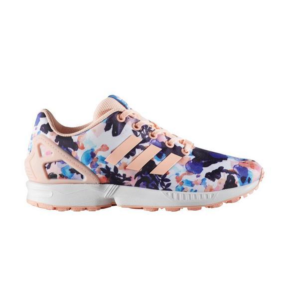 super popular 8a5cc 75f43 adidas ZX Flux Grade School Girls' Shoe - Hibbett US