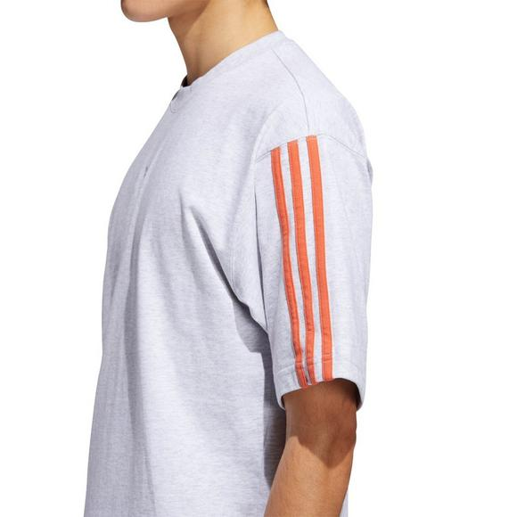 adidas Floating Trefoil Red & Black T Shirt