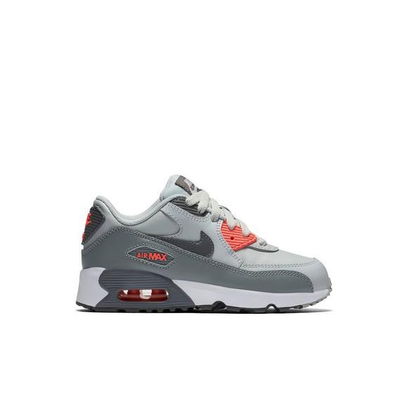 Girls' Shoe Nike Lt Max Greypink Casual Air Leather Preschool 90 4nfqWB6RfU