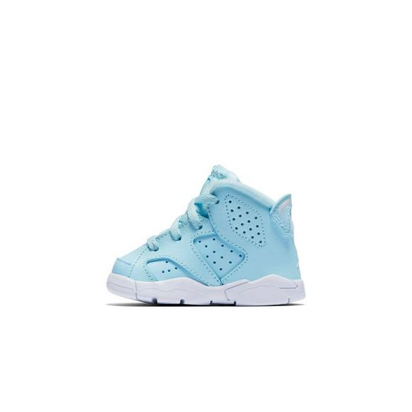 cheap for discount 8b791 5682b Jordan Retro 6 Toddler Girls' Casual Shoe - Hibbett US
