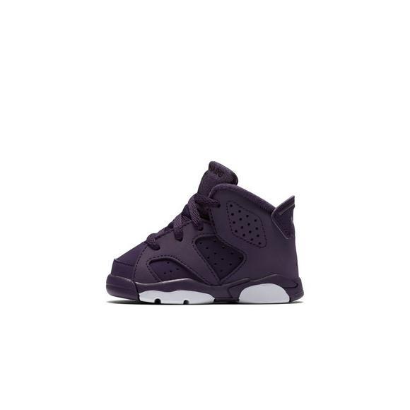 super popular 3a420 2bf8c Jordan Retro 6 Toddler Girls' Shoes - Hibbett US
