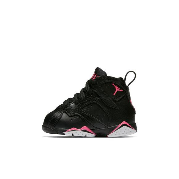 brand new c87c2 419ab Jordan Retro 7 Toddler Girls' Shoe - Hibbett US