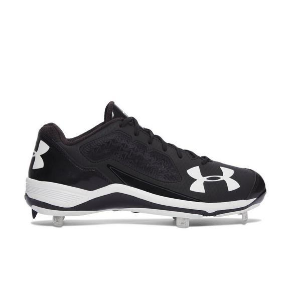 cheap for discount a2895 6b3f6 Under Armour Ignite Low Steel Mens Baseball Cleats - Main Container Image 1