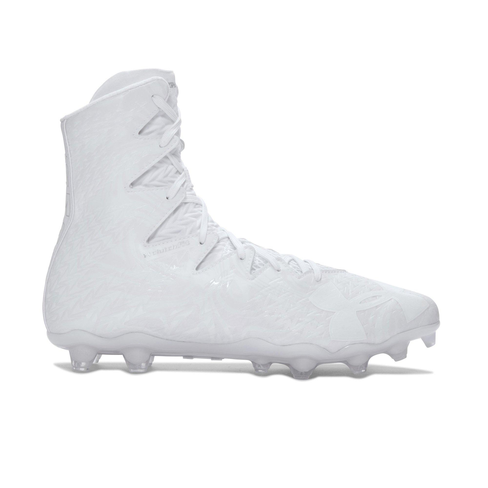 ... Mens Football Cleats - WHITE/SILVER. 4.6 out of 5 stars. Read reviews.