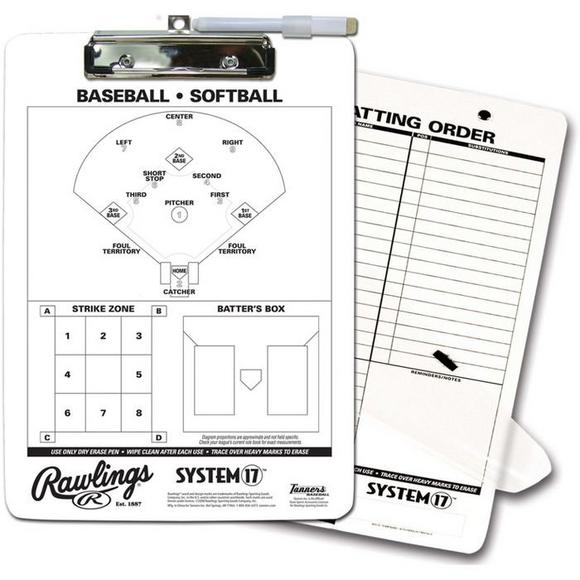 Rawlings Baseball Clipboard