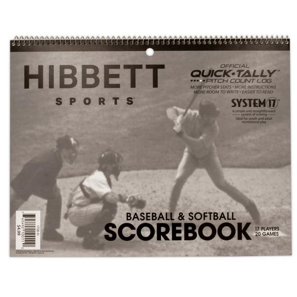 Hibbett Brand System-17 Scorebook