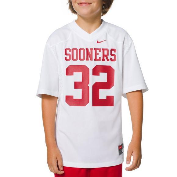the best attitude 41ac6 08668 Nike Youth Oklahoma Sooners Primary #32 Jersey - Hibbett US