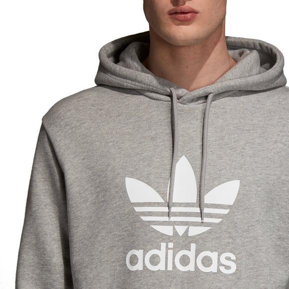 adidas MENS SIZE S M L XL TREFOIL LOGO HOODY OVERHEAD
