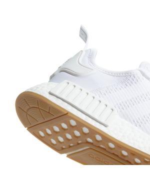 Adidas Nmd R1 White Gum Grade School Kids Shoe Hibbett City