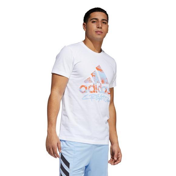 adidas Men's Not Same Logo Graphic Tee - White