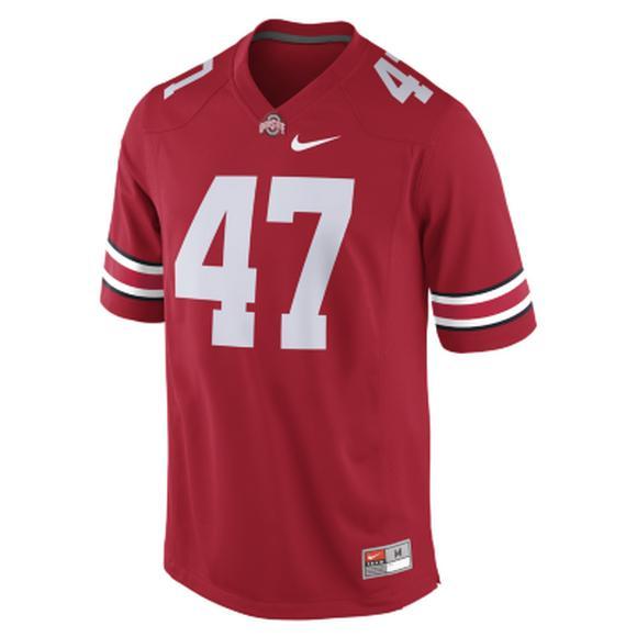 brand new 63dcd 16f44 Nike Men's Ohio State Buckeyes A.J. Hawk #47 Jersey - Hibbett US