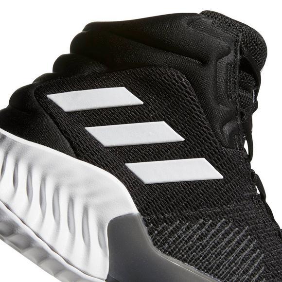Adidas Pro Bounce 2018 Black White Men S Basketball Shoe Hibbett Us