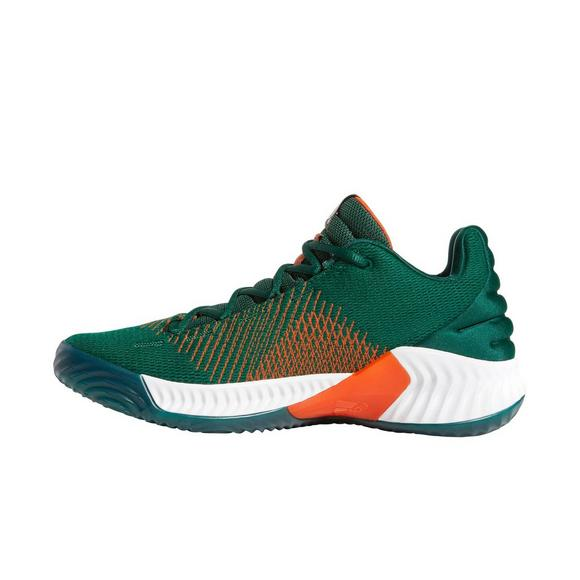 265817376 ... australia adidas pro bounce 2018 low green white mens basketball shoe  main container a17d2 4568c