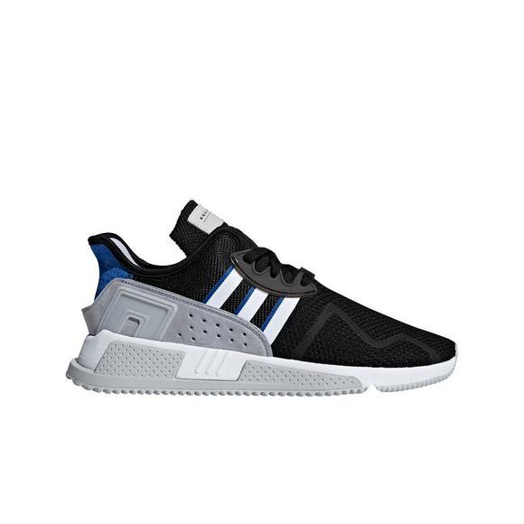 best sneakers 4770b 7a811 usa adidas eqt cushion adv black royal grade school kids shoe main d11be  11768