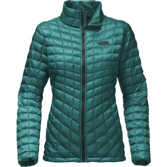 dbd88650e The North Face Women's Thermoball Full Zip Jacket - Blue - Hibbett US