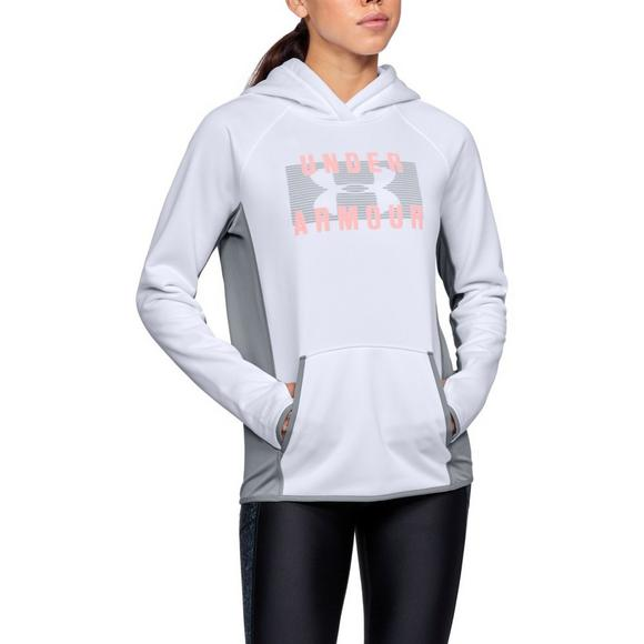 c52f817cdc68 Under Armour Women s Storm Armour Fleece Big Logo Twist Hoodie - Main  Container Image 1