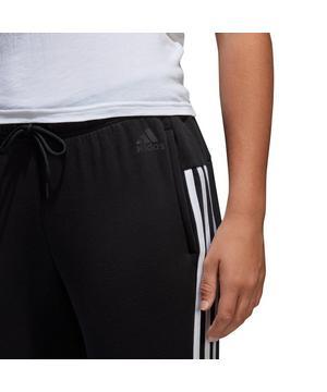 adidas cotton fleece 3 stripe joggers