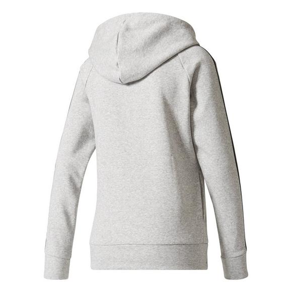 authorized site clearance sale factory price adidas Women's 3 Stripes Hoodie