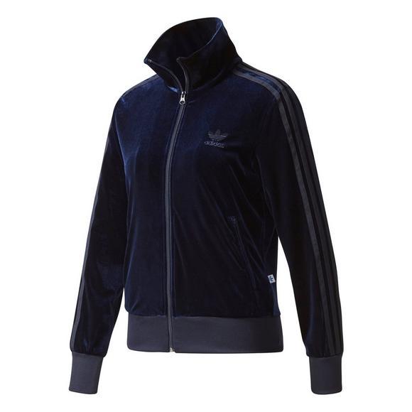 Adidas  mujer 's Velvet tinta Track Jacket Hibbett nosotros