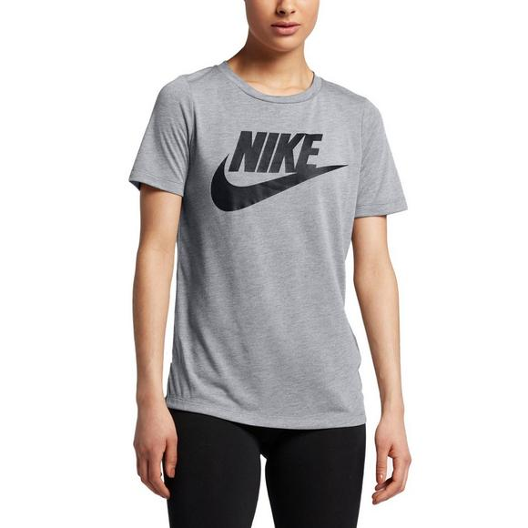 authentic big selection select for newest Nike Women's Sportswear Essential T-Shirt - Grey