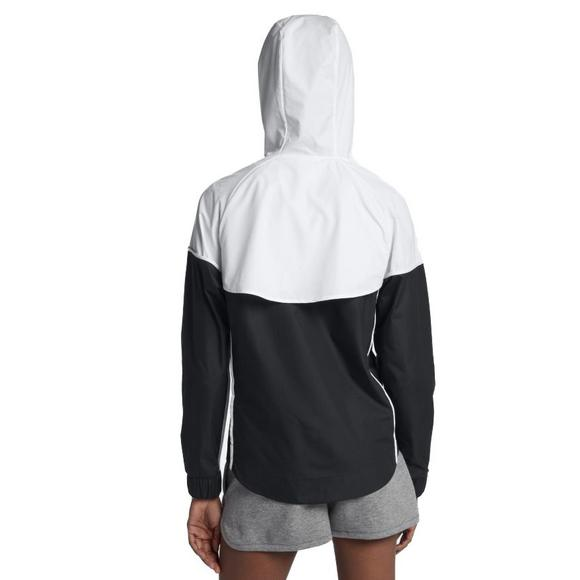 39d618929f56 Nike Women s Sportswear Windrunner Jacket-Black White - Main Container  Image 2
