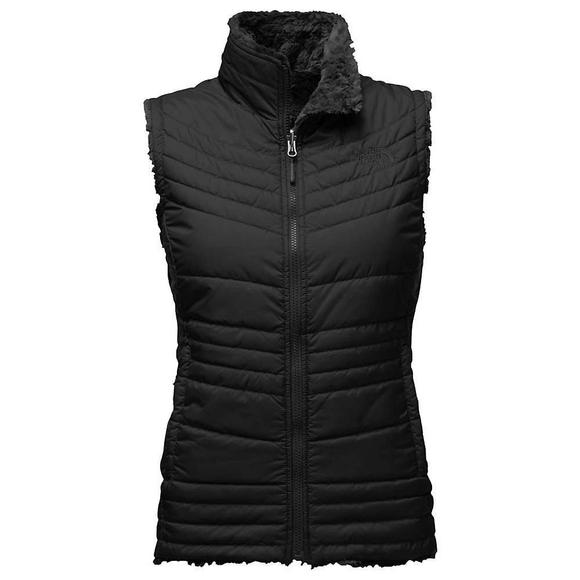 88b19758f The North Face Women's Mossbud Swirl Reversible Vest-Black - Hibbett US