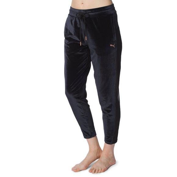sports shoes 046bc 906ae Puma Women s Yogini Velvet Pants - Main Container Image 1