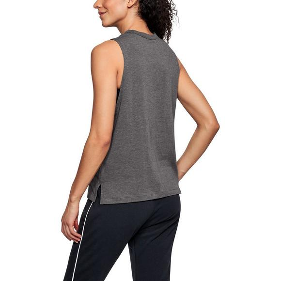 31bb6007b399b2 Under Armour Women s Linear Wordmark Muscle Tank Top - Main Container Image  2
