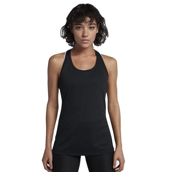16e9c235cf88ae Nike Women s Dry Training Tank Top - Black - Main Container Image 1
