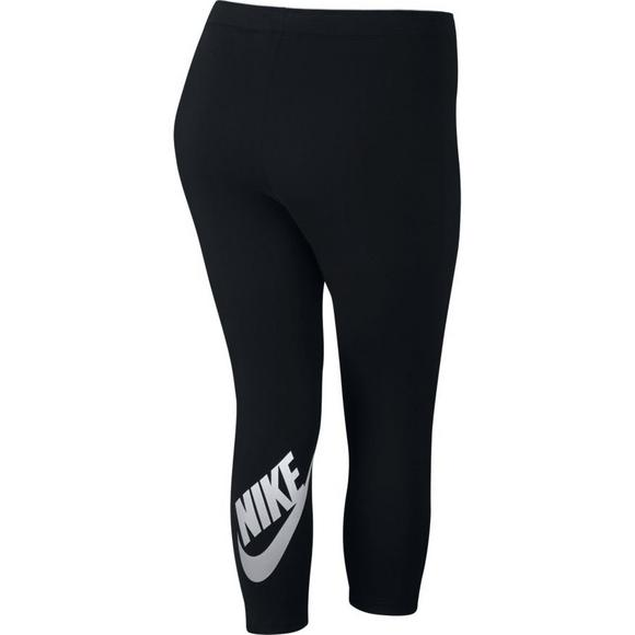 710687a1d9d85d Nike Women's Cropped Club Futura Legging - Main Container Image 2