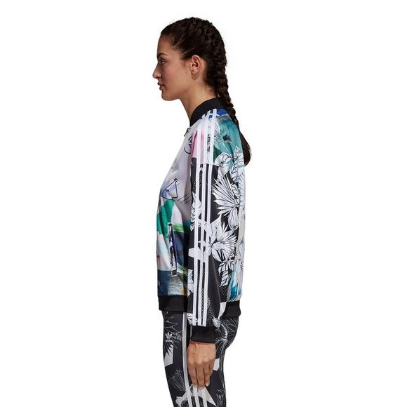 adidas Originals Farm Oversized 3 Stripe Track Top Women's