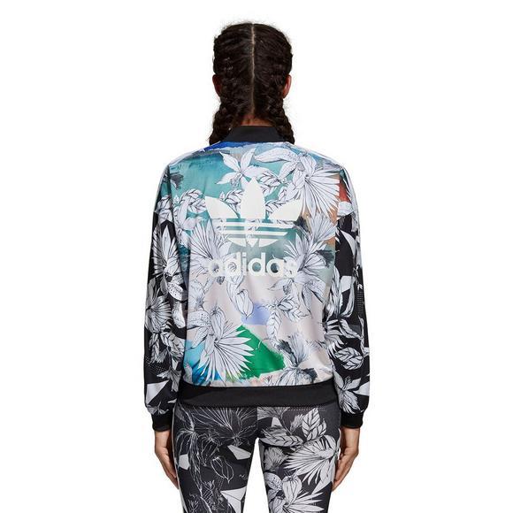 b76df0066 adidas Women's Originals Farm Track Jacket - Hibbett US