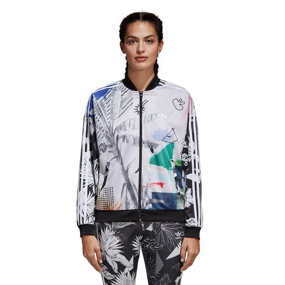 a1fd8950db99 adidas Women s Originals Farm Track Jacket - Main Container Image 1
