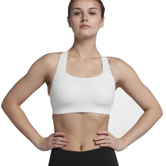 4ba15512266 Nike Women s Pro Alpha Sports Bra- White Black - Main Container Image 1