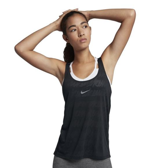 858f3c27d047a2 Nike Women s Dry Training Tank Top-Black - Main Container Image 1
