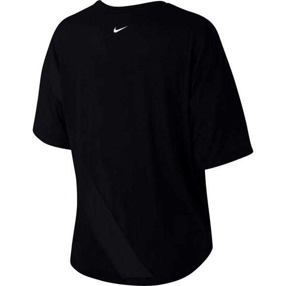 494f5ebda6 Nike Women's Dry Studio Mesh Training Top
