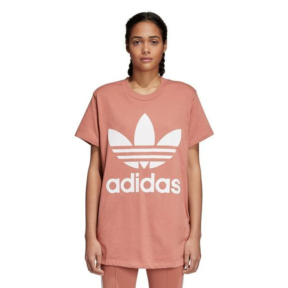 8fb24d9e725701 adidas Women's Originals Trefoil Oversized T-Shirt - Main Container Image 1