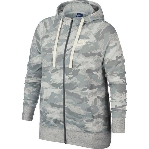 9866824670ca Nike Women s Gym Vintage Camo Hoodie - Main Container Image 1