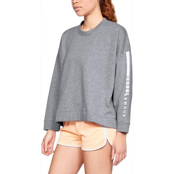 a71f09fb83 Under Armour Women's Rival Fleece Oversized Crew Sweatshirt - Hibbett US