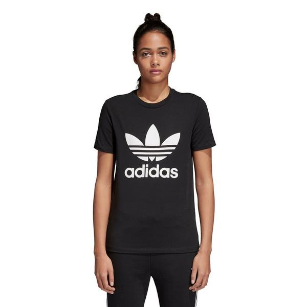 0dc6940e05f5 Display product reviews for adidas Women s Trefoil Tee - Black