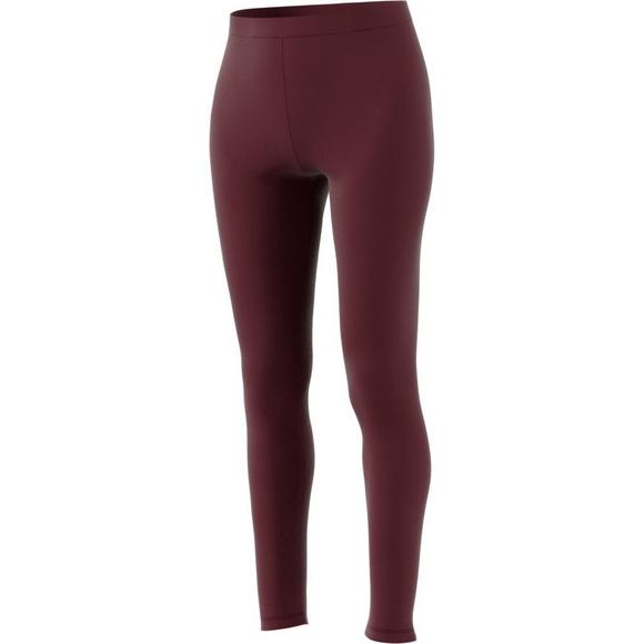 850d0275285 adidas Originals Women s Trefoil Leggings - Maroon - Main Container Image 2