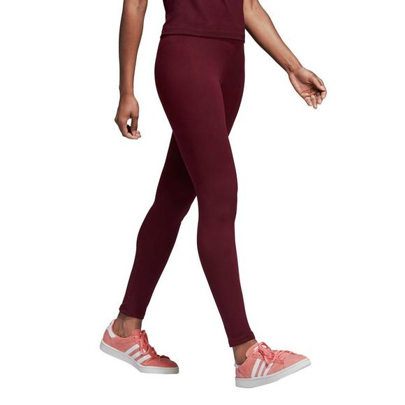c6038d5711f1f adidas Originals Women's Trefoil Leggings - Maroon - Main Container Image 1