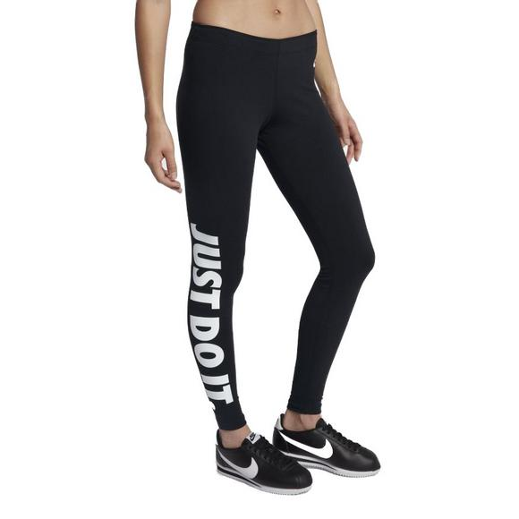 2a6c93e5b637a Nike Women's Leg-A-See JDI Leggings-Black - Main Container Image 1