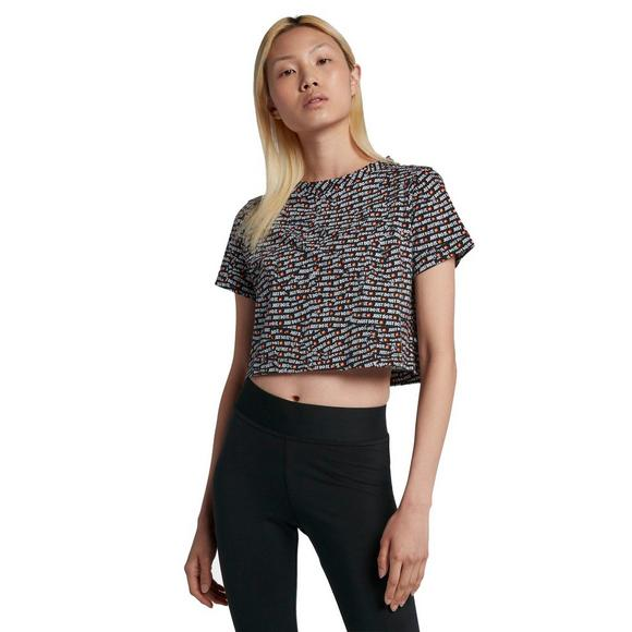354579ae0a8 Nike Sportswear JDI Women's Short-Sleeve Crop Top - Main Container Image 1